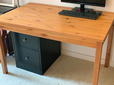 IKEA Dining Room Table - Natural Wood