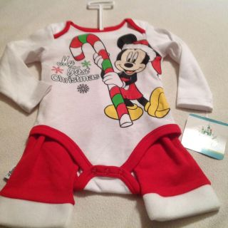 Baby Cute First Christmas Outfit! Size 3/6 months retail was $15.99