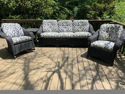 Porch furniture set