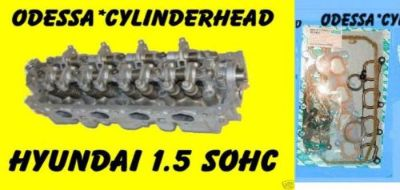 Buy FITS HYUNDAI ACCENT SCOUPE 1.5 SOHC 12 VALVE CYLINDER HEAD&GASKETS NO CORE motorcycle in Clearwater, Florida, United States, for US $505.00
