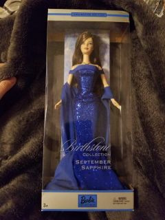 New birthstone barbie collectible