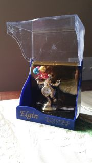 Elgin collectible mini clock