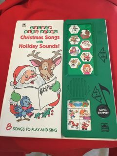 NEW! CHRISTMAS SONG SOUND BOOK (ages 3 and up)