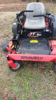 Gravely ztr mower