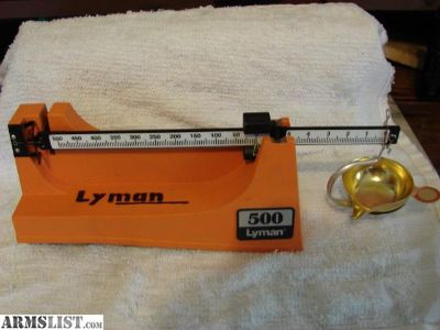 For Sale/Trade: lyman 500 scale