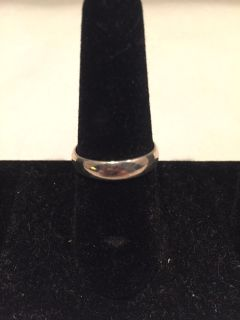 Silver Plated Band size 8