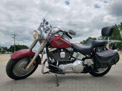 2004 Harley-Davidson FLSTF/FLSTFI Fat Boy Cruiser Motorcycles Belvidere, IL