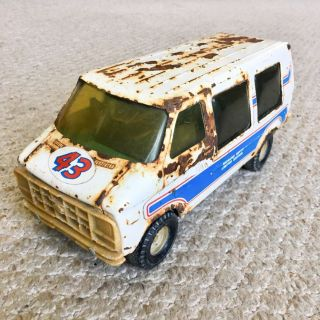 Vintage 1978 ERTL Richard Petty #43 Limited Edition Chevy Van - NASCAR - Made in USA