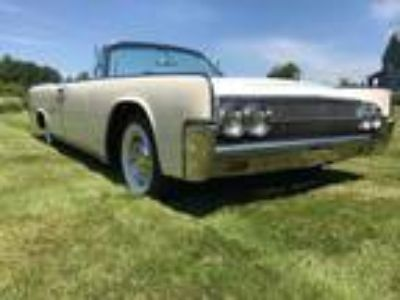 1963 Lincoln Continental Convertible 54K Miles Beautiful Car
