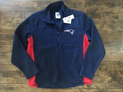 New with tags men s XL Pats zip up