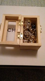 Jewelry Box with 20 Rings