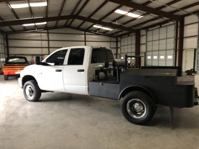 2008 Dodge Ram 3500 4x4 Crewcab Drw Welders Bed, ONE owner Texas, Cummins Diesel