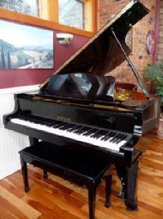 """$20,000 Yamaha C-5 (6'7"""") Grand Piano"""