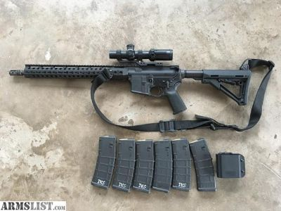 For Sale: PSA Ar-15 with Bushnell AR 223 Throwndown