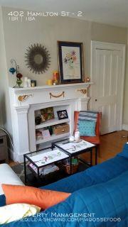 Apartment Rental - 402 Hamilton St