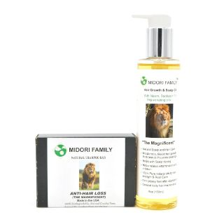Natural Hair Growth Essential Oils - Midori Family