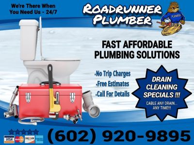 Plumbing 🔧**DRAIN CLEANING SPECIALS** ☎︎ Plumber
