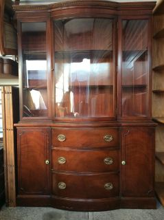 Duncan Phyfe Style China Cabinet