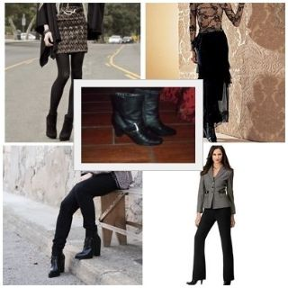 Woman Black Ankle Boots