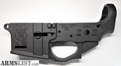 """For Sale: Spike's Tactical """"Viking"""" Stripped Lower Receivers"""