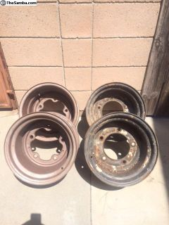 Deep rear rims, stock, smoothies, vented, wide 5