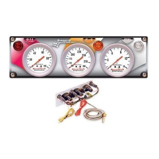 Buy Longacre Guage Panel 44436 Accutech W/ Water Temp Oil & Fuel Pressure quickcar motorcycle in High Ridge, Missouri, United States, for US $219.95