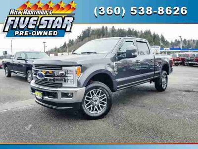 Used 2017 Ford Super Duty F-350 SRW 4WD Crew Cab 6.75' Box
