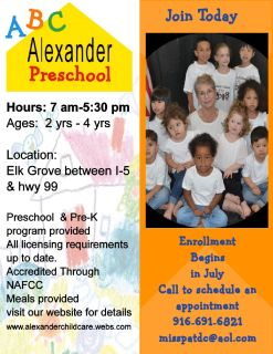 Alexander Child Care and Preschool