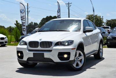 2011 BMW X6 xDrive50i (White)