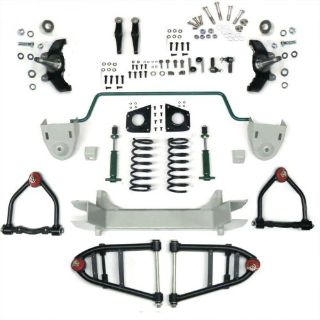 Sell Mustang II 2 IFS Front End kit for 36-50 Cadillac w Shocks Springs Swaybar motorcycle in Portland, Oregon, United States, for US $690.95