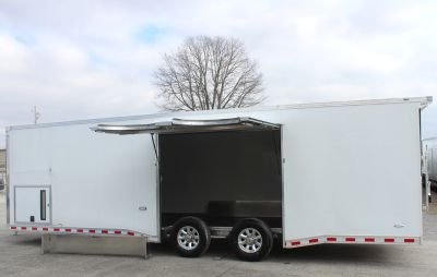 Wide car? 28' Loaded Out Aluminum Race Car Trailer