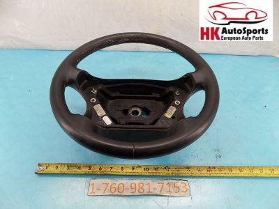 Sell MERCEDES BENZ C240 C320 C32 STEERING WHEEL BLACK 2034600903 OEM 2001 2002 03 04 motorcycle in Hesperia, California, United States, for US $133.33