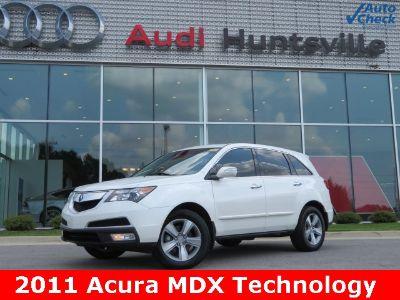 2011 Acura MDX Base w/Tech (Aspen White Pearl)