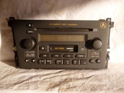 Purchase 01-03 Acura CL BOSE Radio 6 Cd Cassette Face Plate 39101-S3M-A130 3PK0 FP10292 motorcycle in Williamson, Georgia, United States