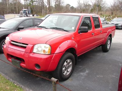 2004 Nissan Frontier XE-V6 (Red)