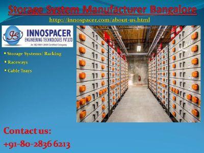 Storage System Manufacturer Bangalore