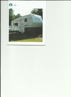 2003 Komfort Trailblazer 5th Wheel 24'