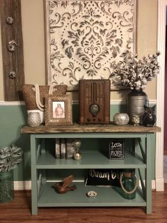 Farmhouse Chic Entry Table / Buffet / Media Stand