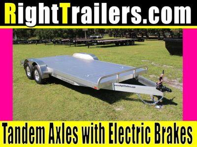 18' ATC All Aluminum Car Hauler w/ 102 Width