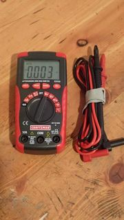 $20, Craftsman Electronic Multi Meter 82008