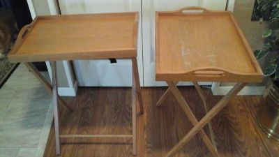 TV Stand Serving Trays (2)