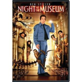 Night at the Museum (DVD, 2007, Full Frame) Children Kid's Comedy