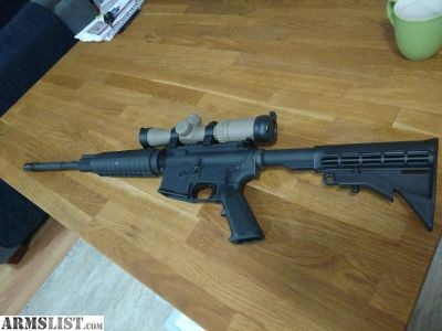 For Sale: AR-15 Anderson with Weaver scope