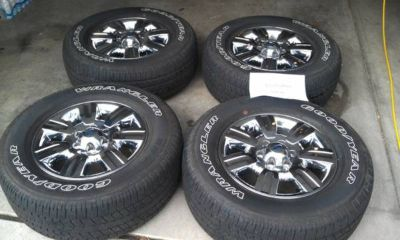 Stock Ford F-150 18 Rims and Tires