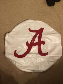 Alabama tire cover for pop up camper. Size 24x8