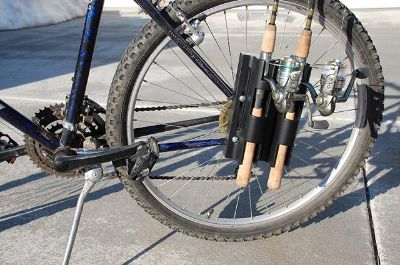 $36.95, Bikefisherman, USA made fishing rod mounting system for bicycles, the environmentally friendly way.