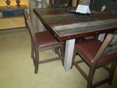 New Table with Four Chairs