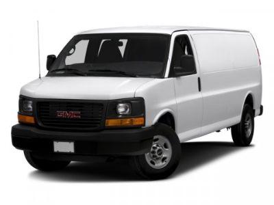 2016 GMC Savana Cargo Van (Cardinal Red)