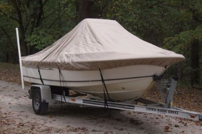 "Buy NEW VORTEX TAN/BEIGE 19'6"" CENTER CONSOLE BOAT COVER, FOR UP TO 54"" TALL CONSOLE motorcycle in Florence, Alabama, United States"