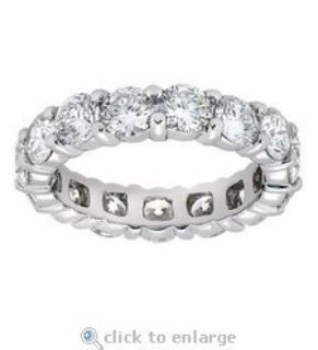 CLEARANCE ***BRAND NEW***5 CTTW CZ Eternity Ring***SZ 9